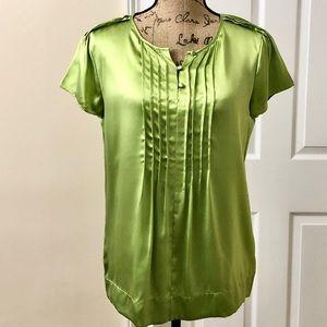 NWOT Talbots silk blouse
